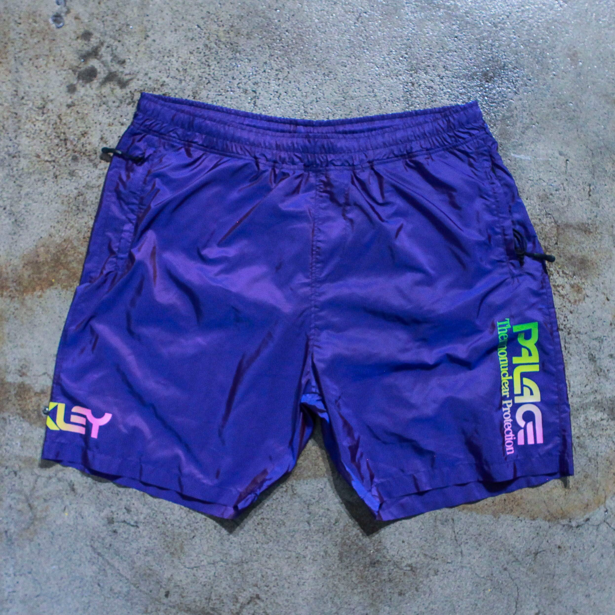 Oakley x Palace Purple Athletic Shorts
