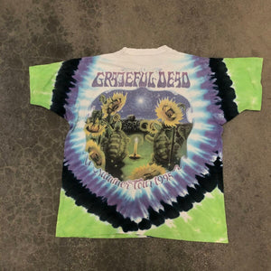 Grateful Dead TieDye summer 1995 Tour Tee