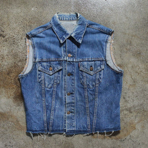 Vintage Distressed Levi's Power Fist Vest