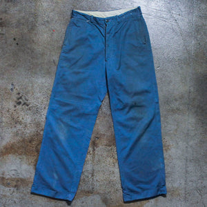 Vintage Deep Blue Work Pants