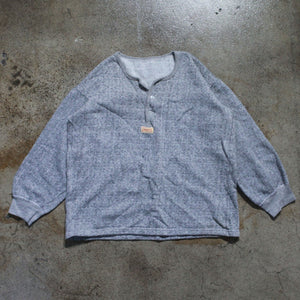Kapital Tri Button Up Sweatshirt