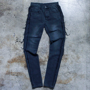 Murder Bravado Black Distressed Denim Jeans
