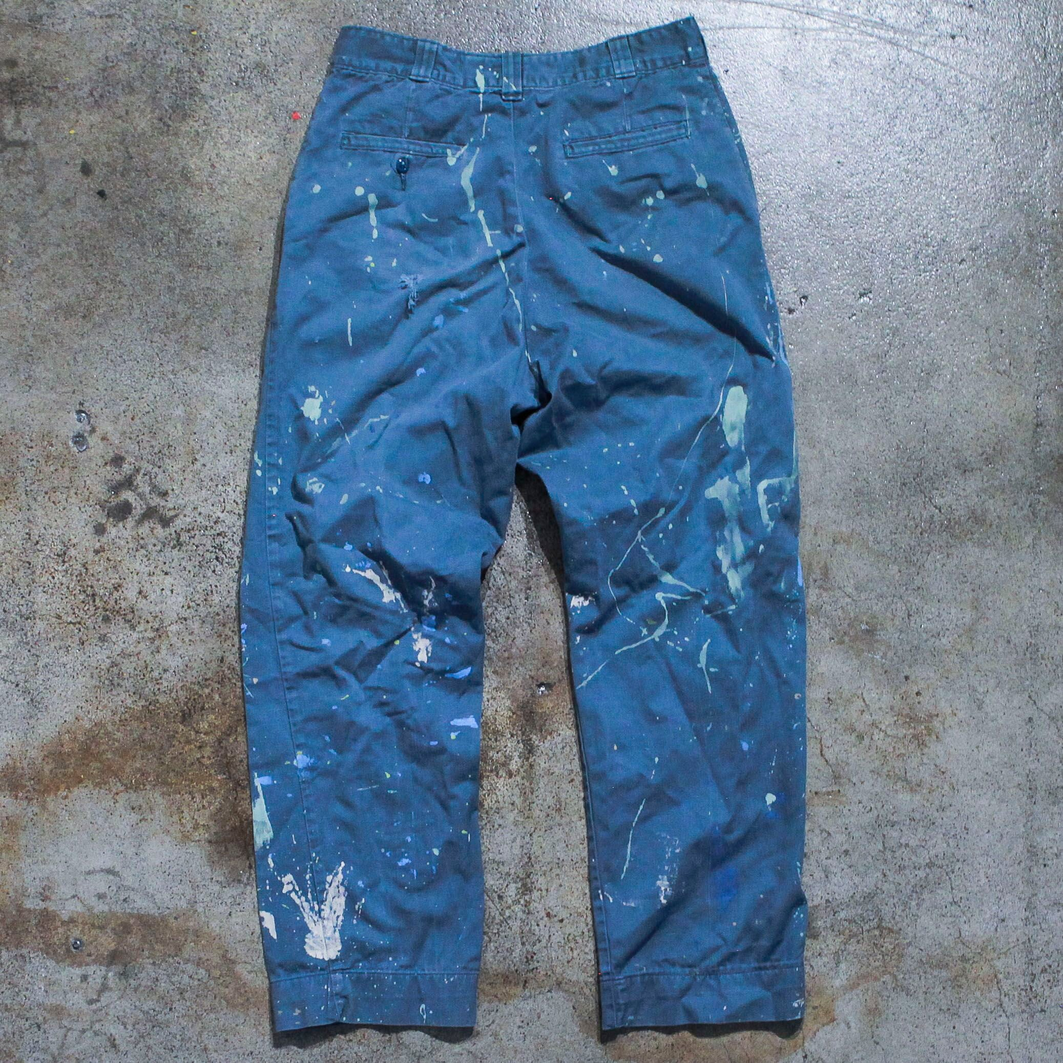 Vintage Painter Splatter Jean