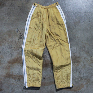 Gold Quilted Pants