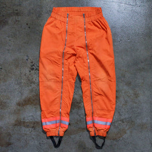 Raf Simons Calvin Klein Orange Pants