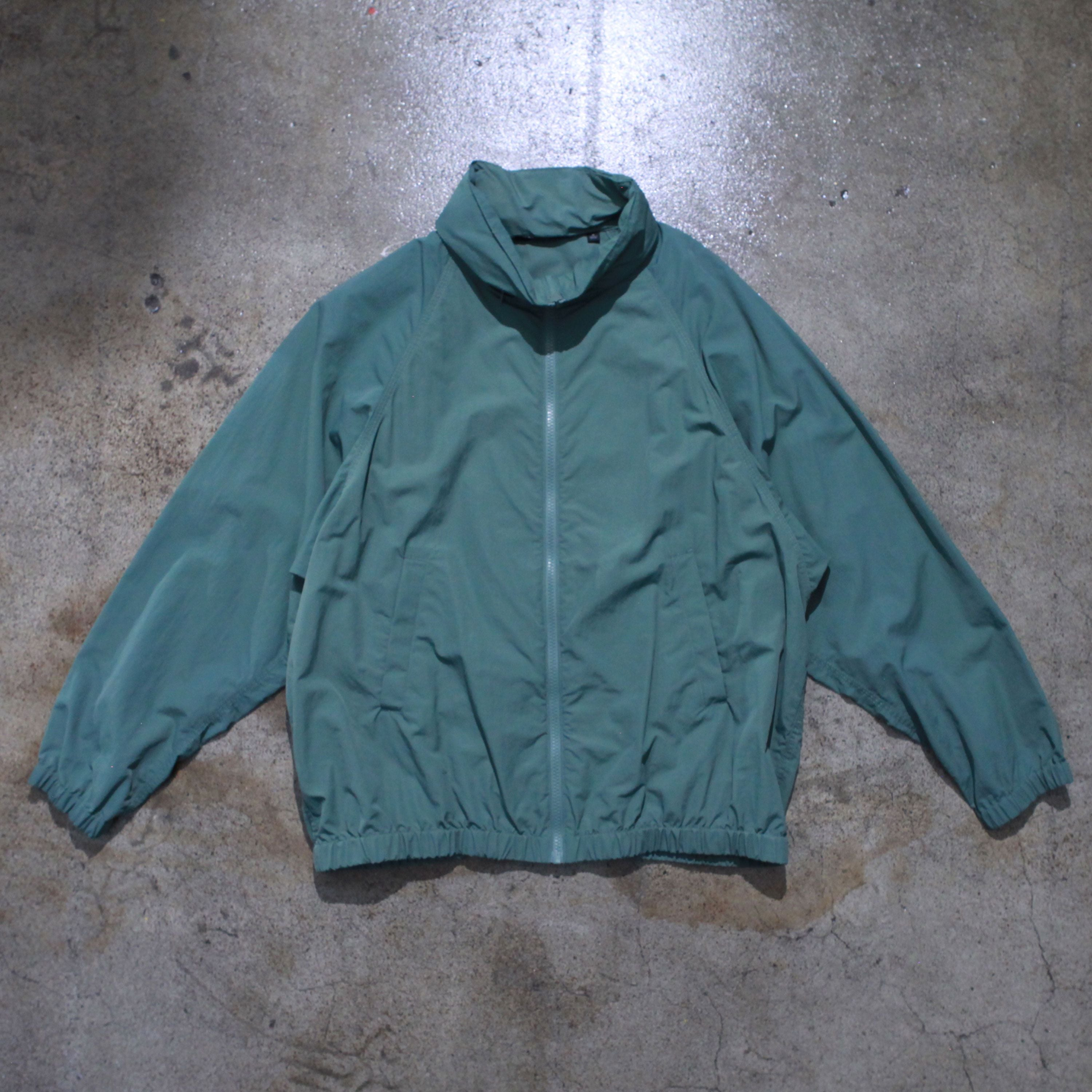 Vintage Light Nylon Zip Up Jacket