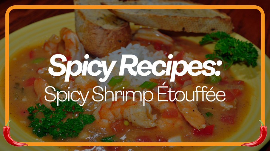 Spicy Shrimp Étouffée Recipe by CMVet