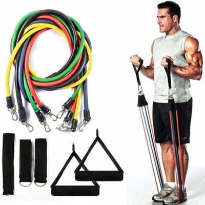 100 lbs Resistance Band Set - 11 in 1 Home Gym