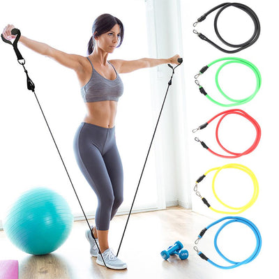 Resistance Band Set - 11 in 1 Home Gym Training
