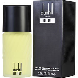 DUNHILL EDITION eau de toilette SPRAY 3.4 OZ for MEN, Recommended use CASUAL