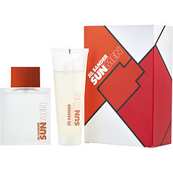 JIL SANDER SUN eau de toilette SPRAY 2.5 OZ & ALL OVER SHAMPOO 2.5 OZ (TRAVEL OFFER) for WOMEN, Recommended use EVENING