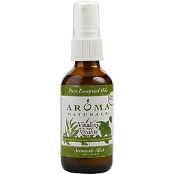 VITALITY AROMATHERAPY AROMATIC MIST SPRAY 2 OZ. USES THE ESSENTIAL OILS OF PEPPERMINT & EUCALYPTUS TO CREATE A FRAGRANCE THAT IS STIMULATING AND REVITALIZING. for UNISEX, Recommended use