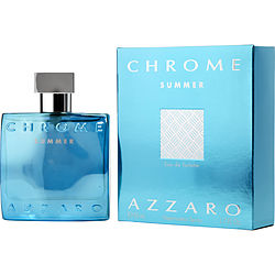 CHROME SUMMER eau de toilette SPRAY 1.7 OZ (LIMITED EDITION 2012) for MEN, Recommended use DAYTIME