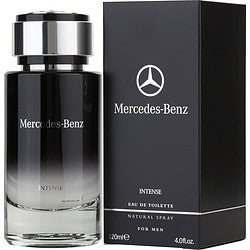 MERCEDES-BENZ INTENSE eau de toilette SPRAY 4 OZ for MEN, Recommended use