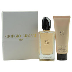 ARMANI SI EAU DE PARFUM SPRAY 3.4 OZ & BODY LOTION 2.5 OZ (TRAVEL OFFER) for WOMEN, Recommended use