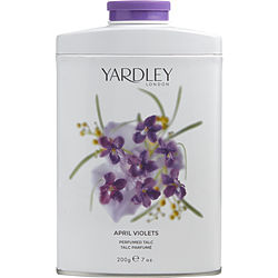 YARDLEY APRIL VIOLETS TIN TALC 7 OZ (NEW PACKAGING) for WOMEN, Recommended use CASUAL
