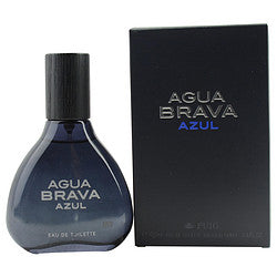AGUA BRAVA AZUL eau de toilette SPRAY 3.4 OZ for MEN, Recommended use