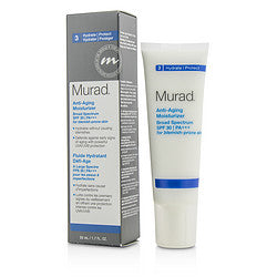 Murad Anti Aging Moisturizer SPF30 PA+++ - For Blemish-Prone Skin --50ml/1.7oz for WOMEN, Recommended use