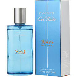 COOL WATER WAVE eau de toilette SPRAY 2.5 OZ for MEN, Recommended use