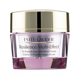 ESTEE LAUDER Resilience Multi-Effect Tri-Peptide Face and Neck Creme SPF 15 - For Dry Skin  --50ml/1.7oz for WOMEN, Recommended use ROMANTIC