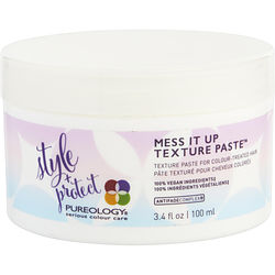PUREOLOGY MESS IT UP TEXTURE PASTE 3.4 OZ for UNISEX, Recommended use