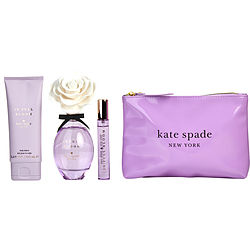 KATE SPADE IN FULL BLOOM EAU DE PARFUM SPRAY 3.4 OZ & BODY LOTION 3.4 OZ & EAU DE PARFUM SPRAY .34 OZ MINI & POUCH for WOMEN, Recommended use