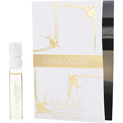 LIVING LALIQUE EAU DE PARFUM SPRAY VIAL for WOMEN, Recommended use