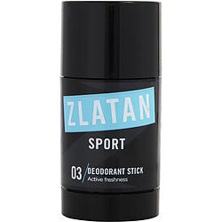 ZLATAN IBRAHIMOVIC SPORT DEODORANT STICK 2.5 OZ for MEN, Recommended use