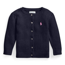 Afbeelding in Gallery-weergave laden, RALPH LAUREN BABY GIRLS CARDIGAN
