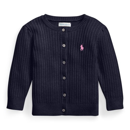 RALPH LAUREN BABY GIRLS CARDIGAN
