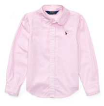 Afbeelding in Gallery-weergave laden, RALPH LAUREN GIRLS HEMD