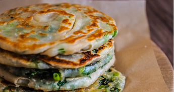 Oatmeal Scallion Pancakes!