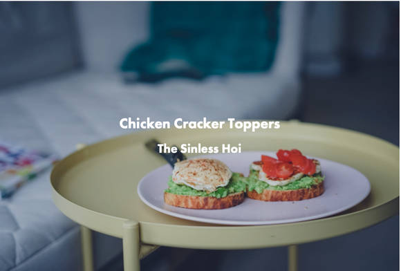 Chicken Cracker Toppers