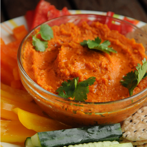 Roasted Carrot and Tomato Dip
