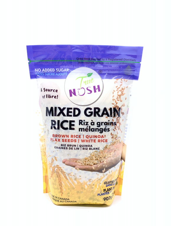 Packaged Rice: Mixed Grain Rice - True NOSH