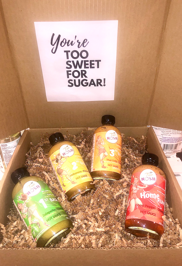 Gift Box: Hot Sauce Bundle Box