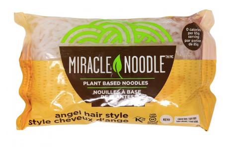 Pasta & Noodles: Miracle Noodle Angel Hair Shirataki Konjac Noodle