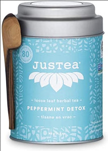Tea Leaves: JusTea Peppermint Detox