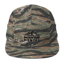 Load image into Gallery viewer, Mountain Logo White 5 Panel