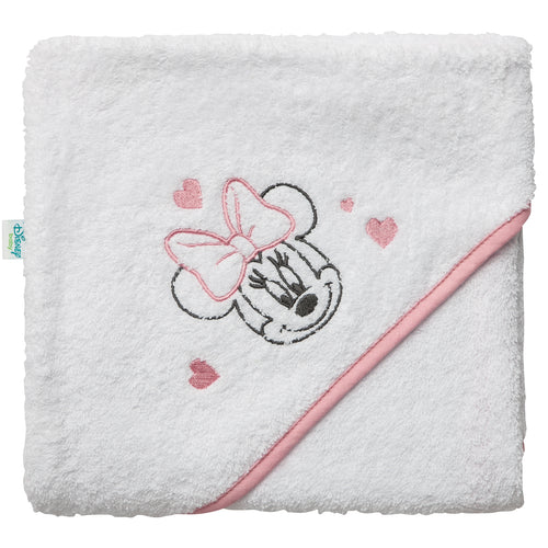 Cape de bain en éponge Disney Minnie 80x80 cm Disney Baby - BB Malin
