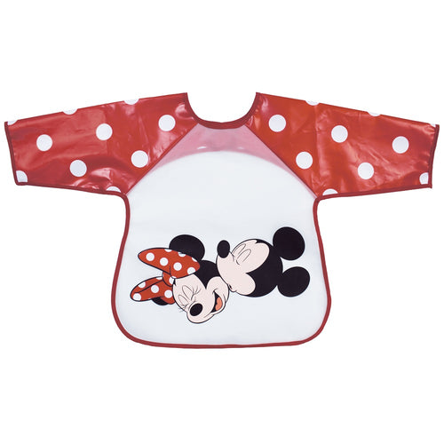 Bavoir tablier plastifié Disney Mickey & Minnie - 18 mois - Disney Baby