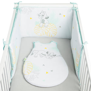 Tour de lit adaptable Disney Roi Lion 40x180 cm