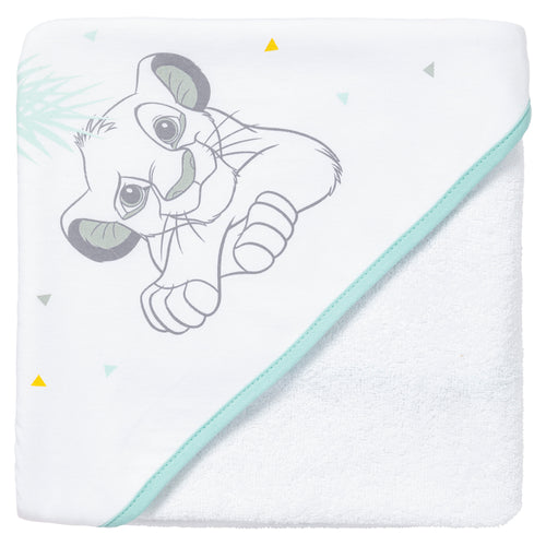 Cape de bain Disney Roi Lion 80x80 cm Disney Baby - BB Malin