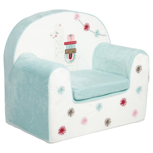 Fauteuil enfant déhoussable Little Lama - Little-Band.fr