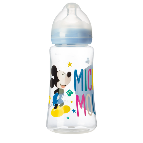 Biberon à col large Disney Mickey Bloom - 360mL - Disney Baby