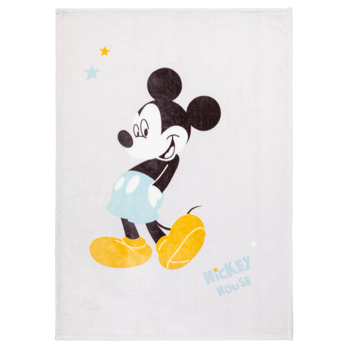 Couverture en flanelle Disney Mickey My Story - 100x140 cm - Disney Baby