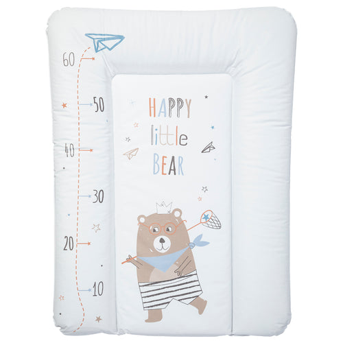 Matelas à langer Essentiel 50x70 cm - Happy Little Bear toise - Babycalin