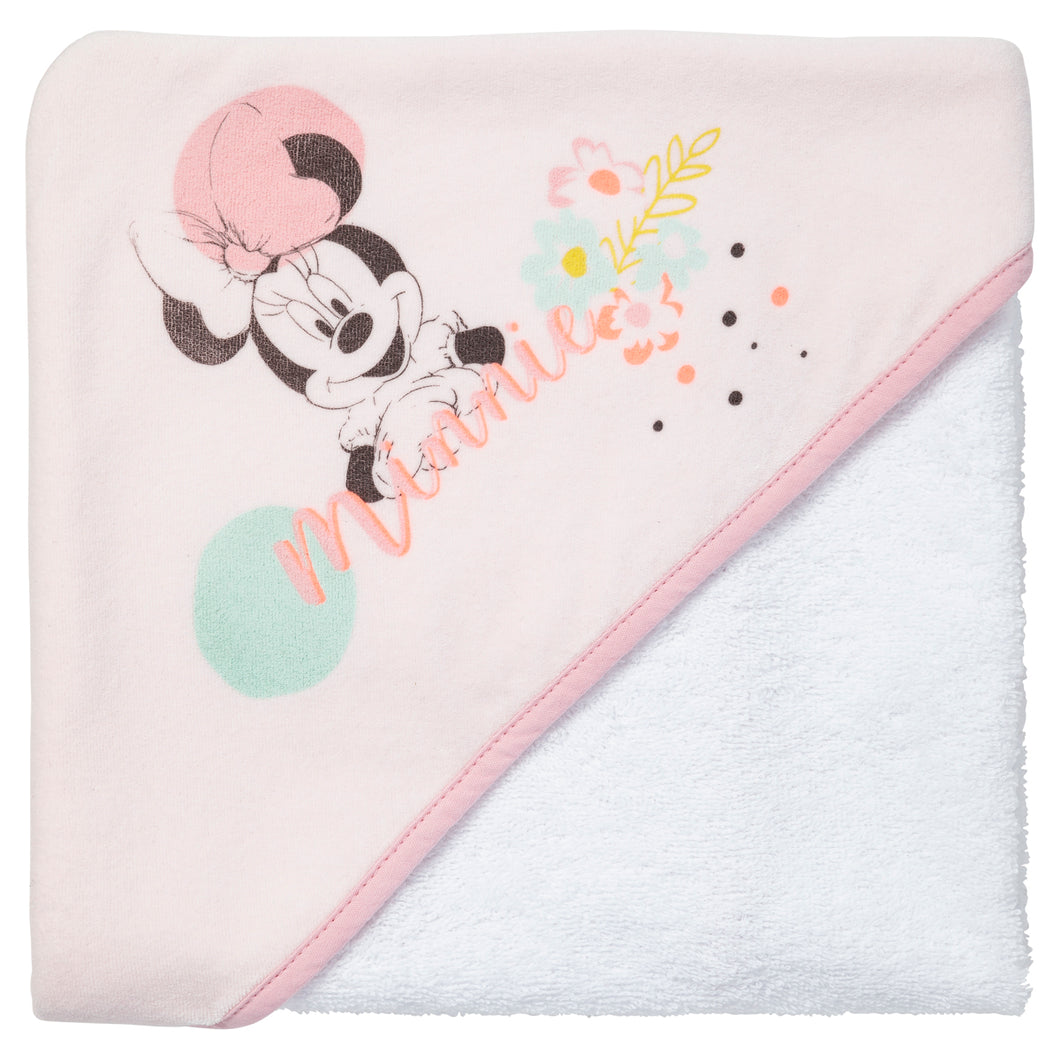 Cape de bain Disney Minnie Floral - 80x80 cm - Disney Baby
