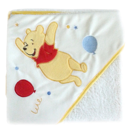 Cape de bain Disney Winnie ballons - 80x80 cm - Disney Baby