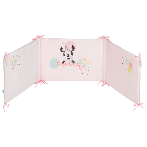 Tour de lit adaptable Disney Minnie Floral - 40x180 cm - Disney Baby